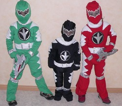 Déguisement Power Rangers