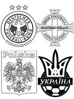 Coloriage Groupe C: Allemagne - Ukraine - Pologne - Irlande du Nord
