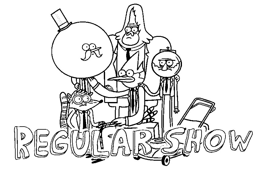 Search results for regular show colouring pictures for Regular show coloring pages