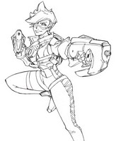 Coloriage Tracer