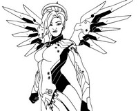 Coloriage Mercy