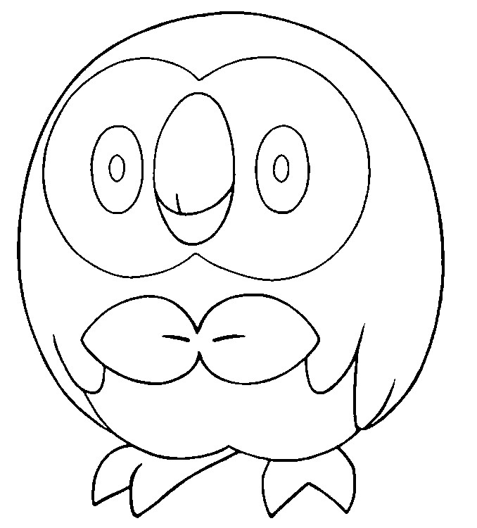 Coloriage Pokemon Soleil Et Lune Brindibou 11 Sketch Coloring Page