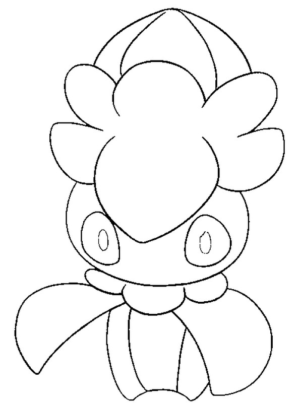 Coloriage Pokemon Soleil Et Lune Mimantis 26
