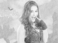 Coloriages chica vampiro coloriage - Coloriage chica vampiro ...