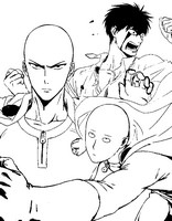 Coloriage One Punch Man