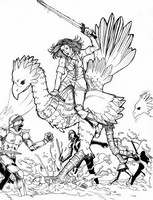 Coloriage Final Fantasy XI