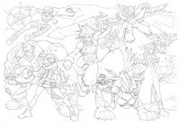 Coloriage Final Fantasy 7