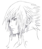 Coloriage Final Fantasy XV - Noctis