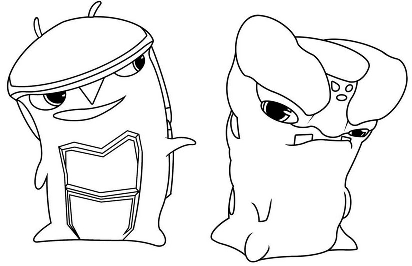 slugterra coloring pages transformation tuesday - photo#22