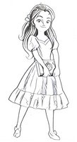 Coloriage Elena d'Avalor