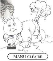 Coloriage Manu Cléaire