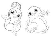 Coloriage Hatchimals