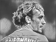 Coloriage Antoine Griezmann - France