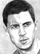 Coloriage Eden Hazard