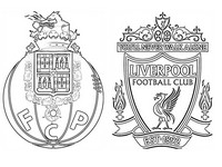 Coloriage FC Porto - Liverpool FC