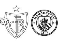Coloriage FC Bâle - Manchester City FC