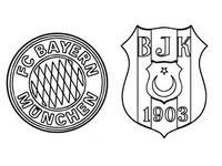 Coloriage FC Bayern Munich - Besiktas JK