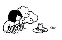 Coloriage Ella, Oscar, Hoo et la grenouille