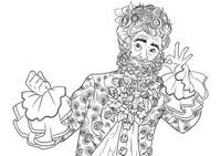 Coloriage Hawthorne le roi de la terre des fleurs