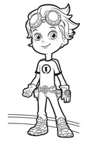 Coloriage Rusty Rivets