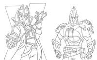 Coloriage Saison 10 Catalyst et Ultima Knight
