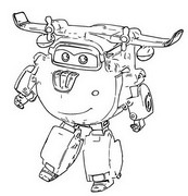 Coloriage Super Wings