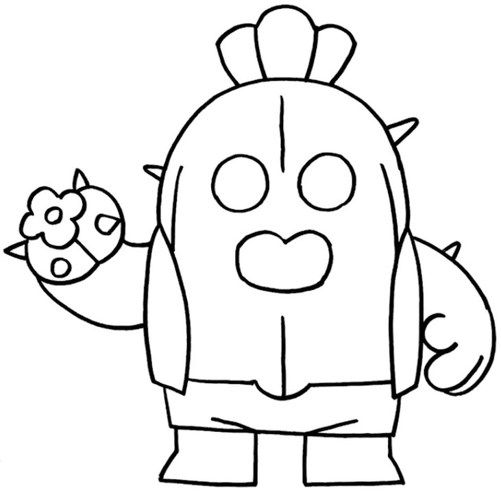 Brawl Stars Coloring Pages Jerusalem House