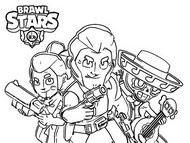 Coloriage Brawl Stars