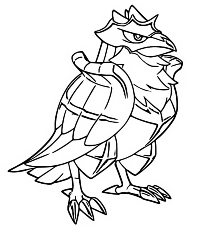 Coloriage Corvaillus