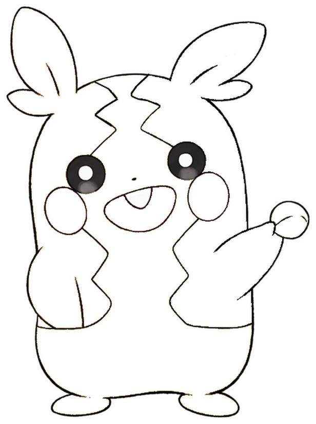 Coloriage Pokemon Epee Et Bouclier Morpeko Mode Rassasie 16
