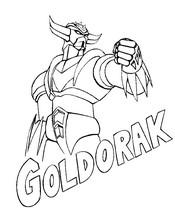 Coloriages Goldorak - Bonjour les enfants