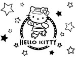 Coloriage Hello Kitty