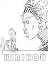 Coloriage Kirikou et la sorcière