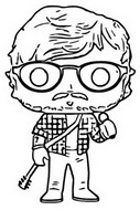 Coloriage Ed Sheeran