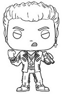 Coloriage Billy Idol