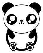 Coloriage Panda