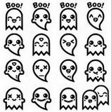 Coloriage Fantômes
