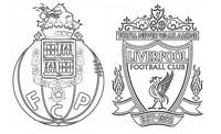 Coloriage Quarts de finale : Liverpool - Porto