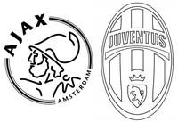Coloriage Quarts de finale : Ajax Amsterdam - Juventus