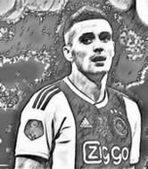 Coloriage Dusan Tadic 2019