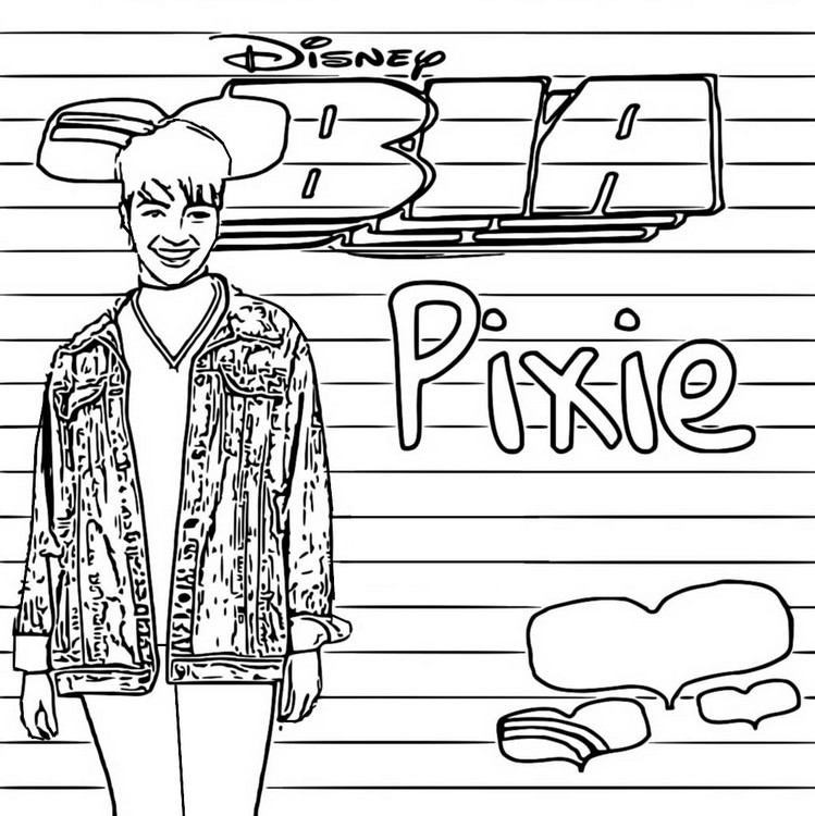 Coloriage Pixie - Bia