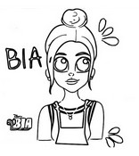 Coloriage Bia