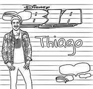 Coloriage Thiago