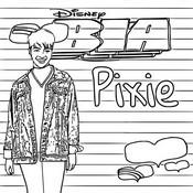 Coloriage Pixie