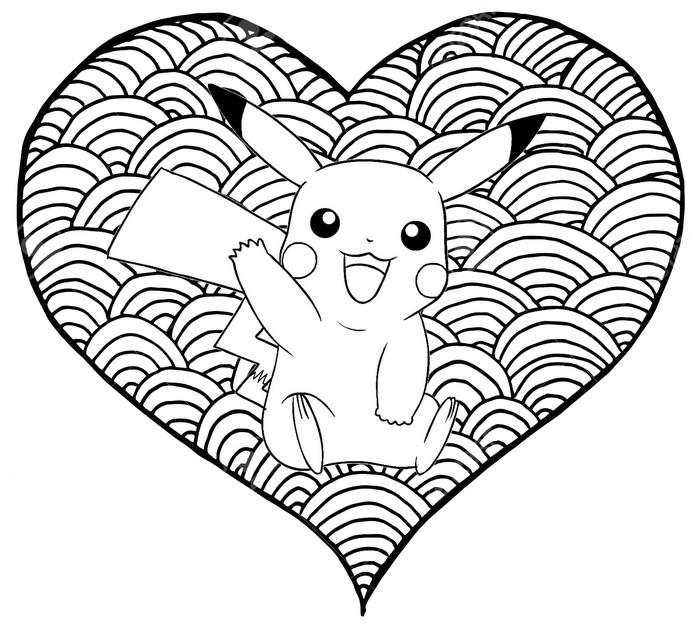 Coloriage Pokemon Pikachu Detective