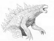 Coloriage Godzilla 2014