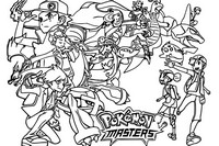 Coloriage Pokémon Masters