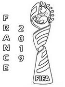 Coloriage Logo France 2019