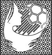 Coloriage Football féminin