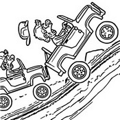 Coloriages Hill Climb Racing Bonjour Les Enfants